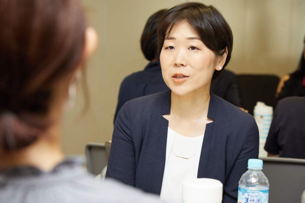 北海道きょうだいの会代表の白石未佳子の写真